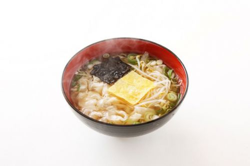 釜山のフリー写真素材(ワンタン、海鮮など)