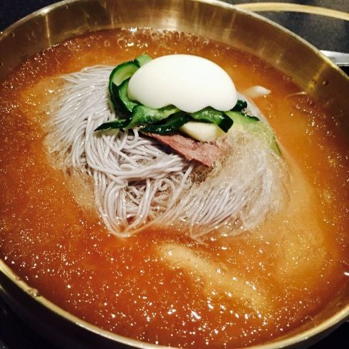 赤坂で韓国料理ランチ♪「チョンギワ」さんでシャリシャリ冷麺