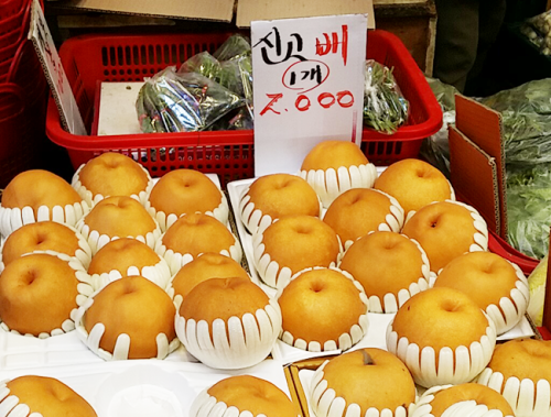 【韓国グルメ】アタシがよくチェックする韓国八百屋