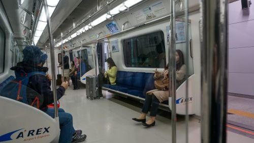 仁川空港第二ターミナルから一般列車で弘大へ