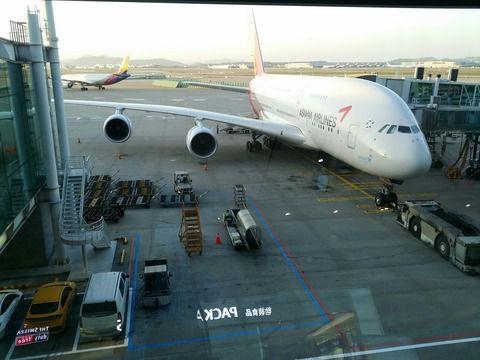 【GW韓国旅行】帰国@アシアナ航空
