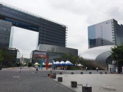 一日中遊べるテーマパークのようなデジタルメディアシティ☆ 【2017.7★ソウル郊外の旅】