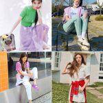 韓国旅行|晴れた最近の天気にピッタリ!爽やかな「ピクニックファッション」♪