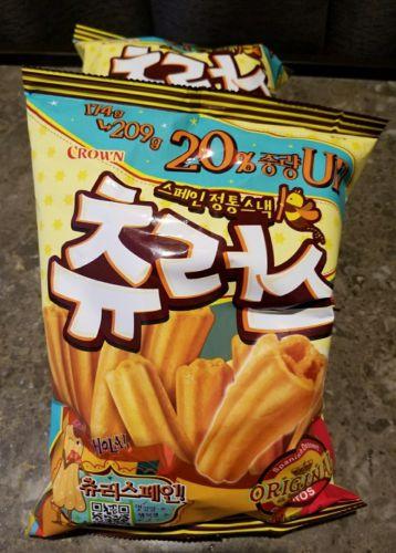何、この罪悪感…。罪深き韓国のお菓子「チュロス」