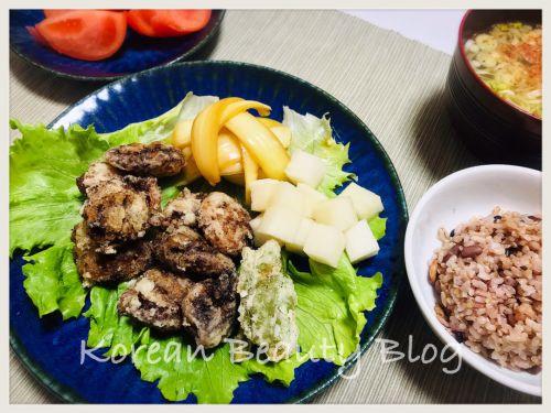 大邱名物の砂肝とカンタンな韓国の常備菜作り