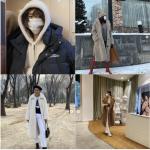 韓国旅行|【ユナ – ファン·シネ】のように…ダウンの代わりに『シアリングジャケット』♪
