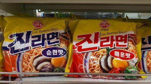 日本のダイソーで見つけた韓国ラーメン(*≧∀≦*)