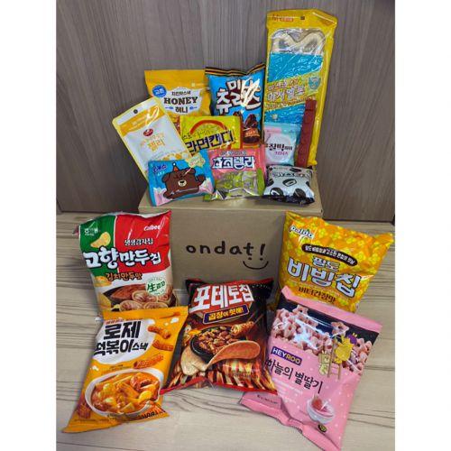 韓国からお菓子をお取り寄せしました〜(*^▽^*)